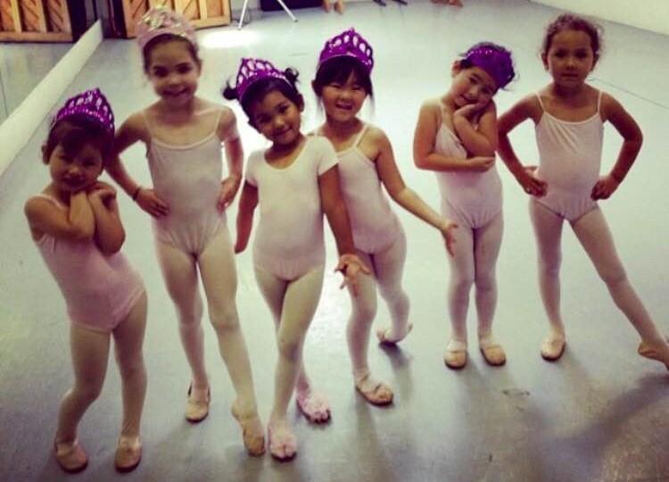 Pre-Ballet students