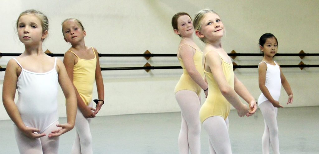 Students in Dance Camp