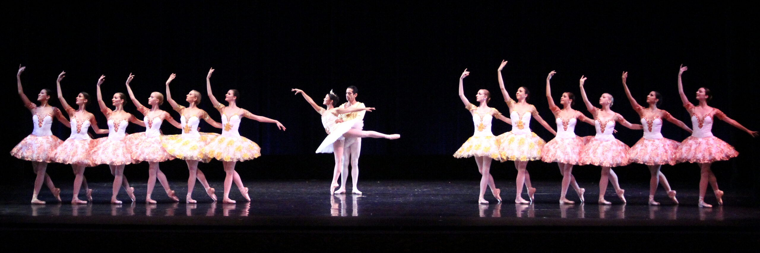Ballet dancers in Paquita