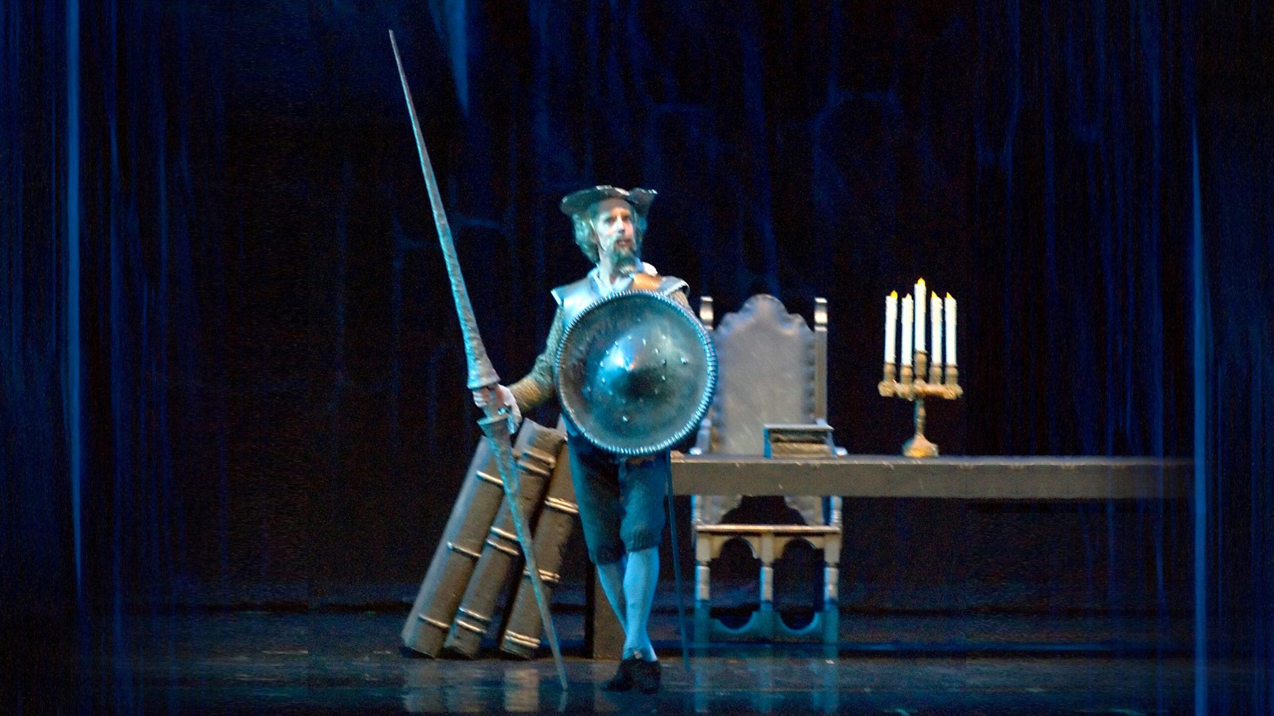 Steven Wistrich as Don Quixote