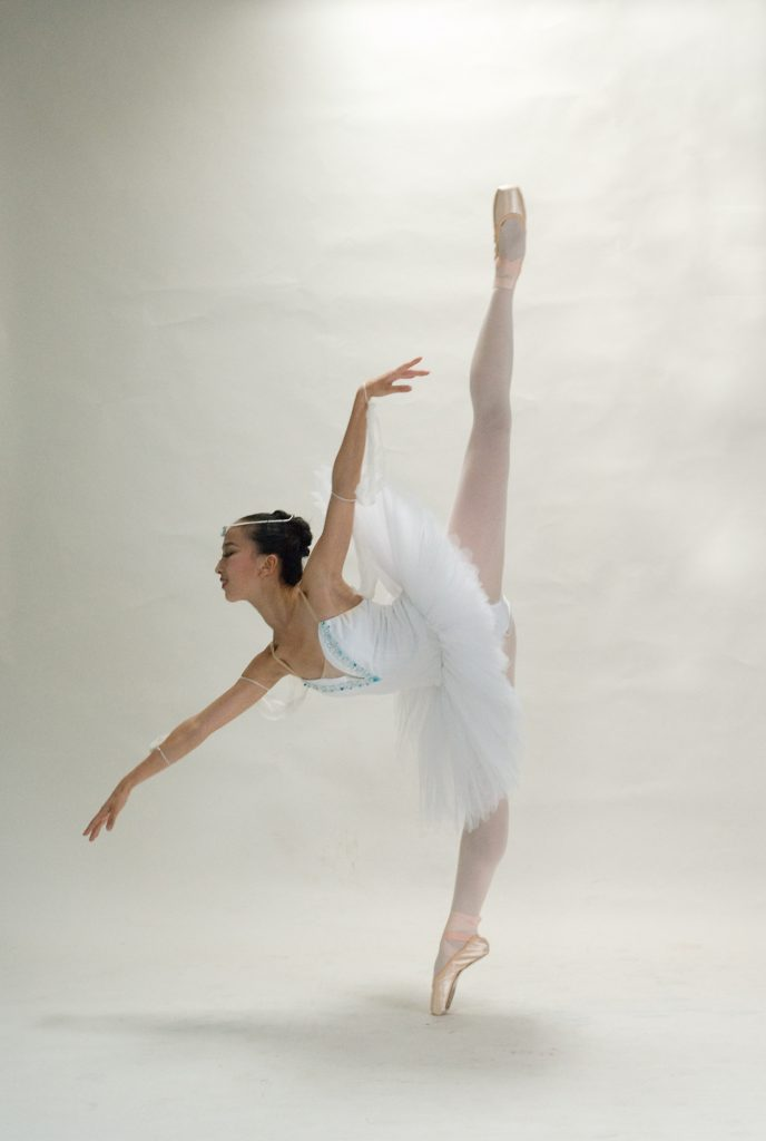 Ballet dancer from Paquita